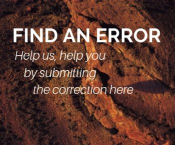 Find Errors - Home Page
