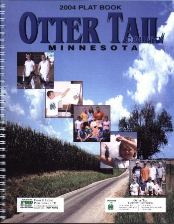 2004 Otter Tail County, MN Plat Book