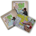 More about the 'Ward Co ND Wall Map' product