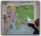 More about the 'Bureau Co IL Wall Map' product